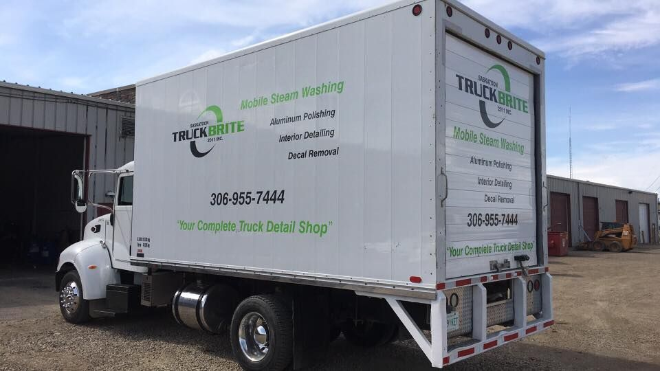 Saskatoon Truck Brite Mobile Steam Wash Unit